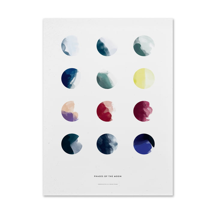 Moon Phases von Paper Collective