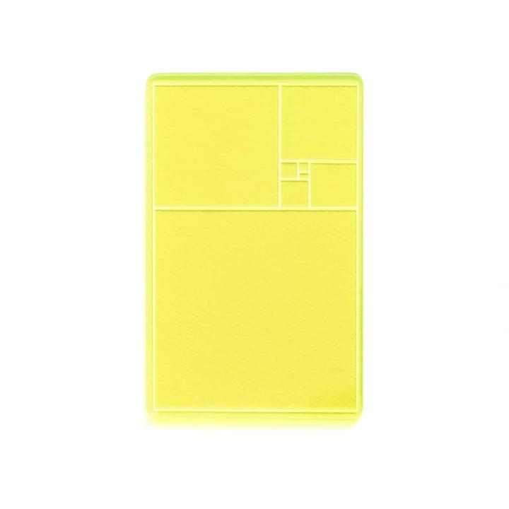 Areaware - Golden Section Finder, gelb / grün