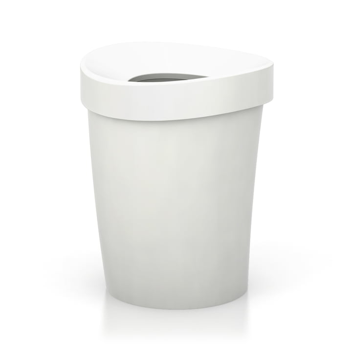 Vitra - Happy Bin Papierkorb, large, weiß