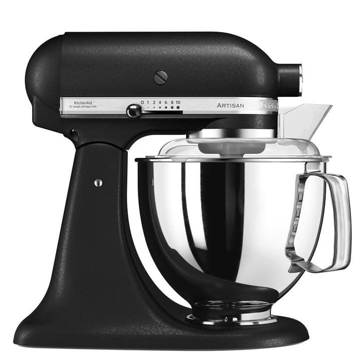 Artisan Küchenmaschine 4.8 l von KitchenAid aus Gusseisen in Schwarz