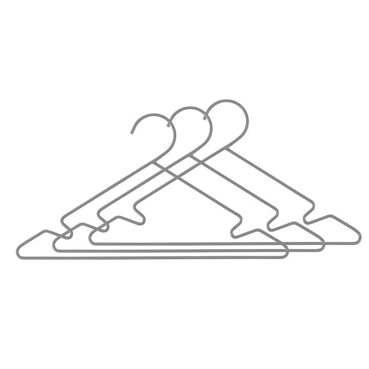 Metall Kinderkleiderbügel (3er-Set) von Sebra in Grau