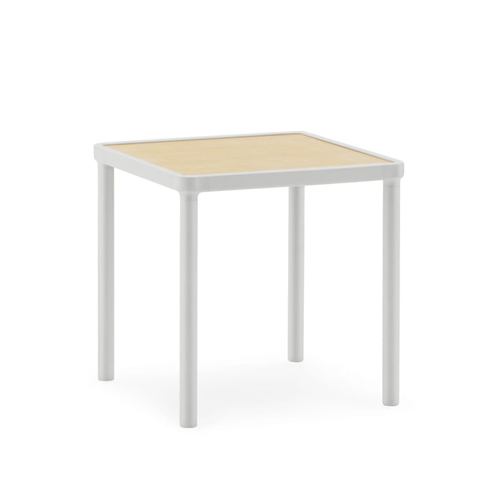 Case Couchtisch 40 x 40 cm von Normann Copenhagen in Light Grey