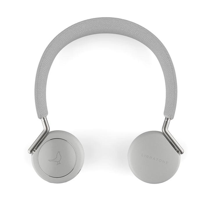 Der Libratone - Q Adapt Wireless ANC On-Ear Kopfhörer, Cloudy White