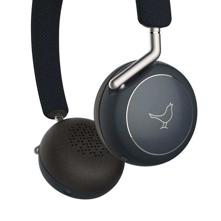 Der Libratone - Q Adapt Wireless ANC On-Ear Kopfhörer, Stormy Black