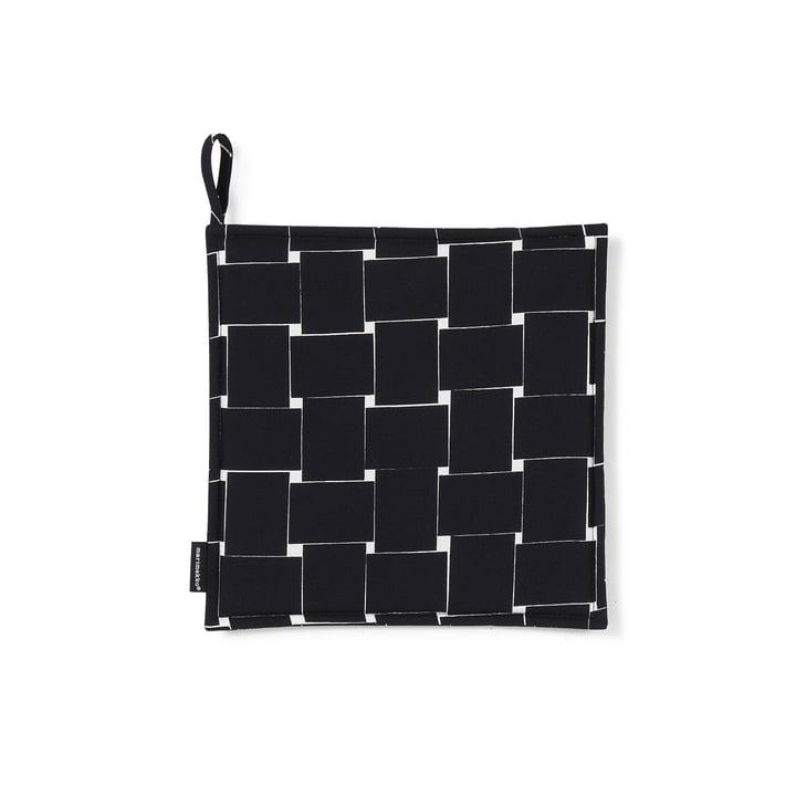 Basket Topflappen von Marimekko in Schwarz / Weiß