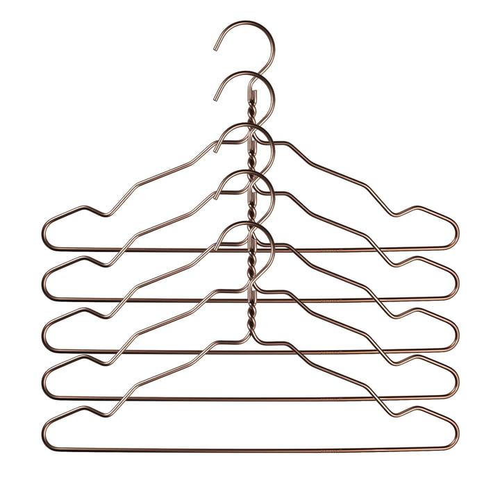Nomess - Alu Hanger mit Kerbe (5er-Set), bronze