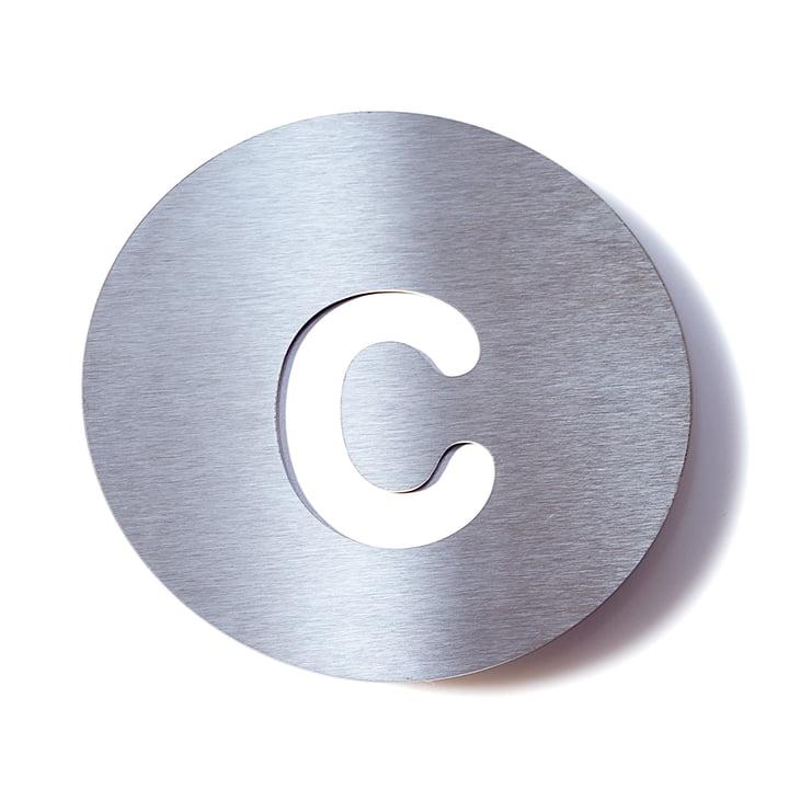 Hausnummer c von Radius Design