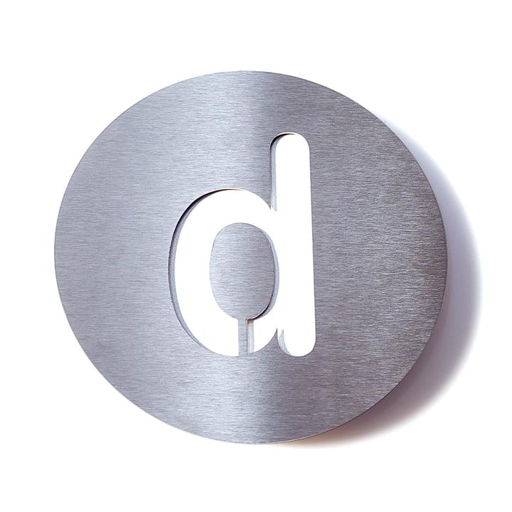 Hausnummer d von Radius Design