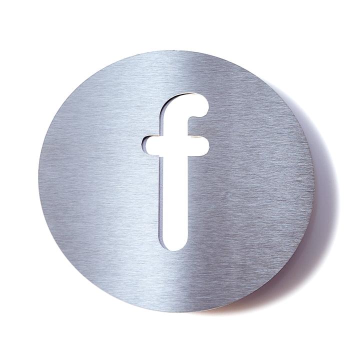 Hausnummer f von Radius Design