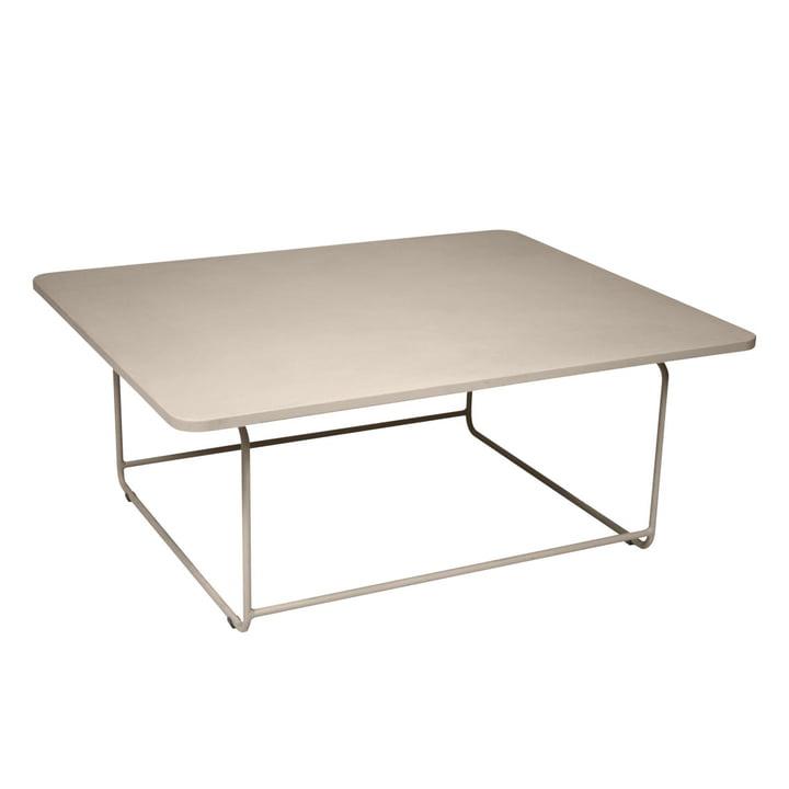Ellipse Niedriger Tisch von Fermob in Muskat