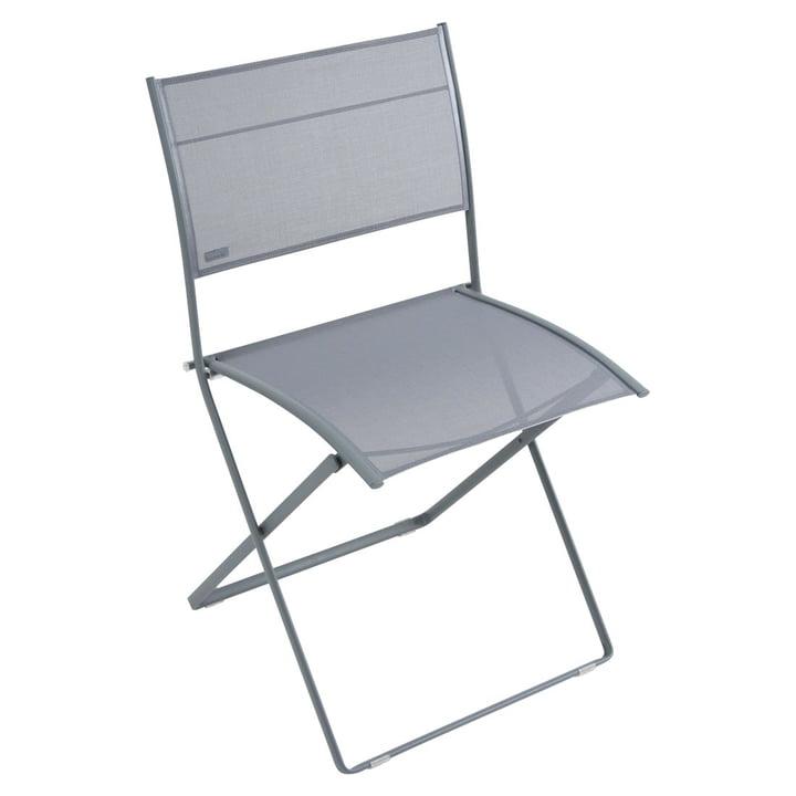 Plein Air Stuhl von Fermob in Gewittergrau