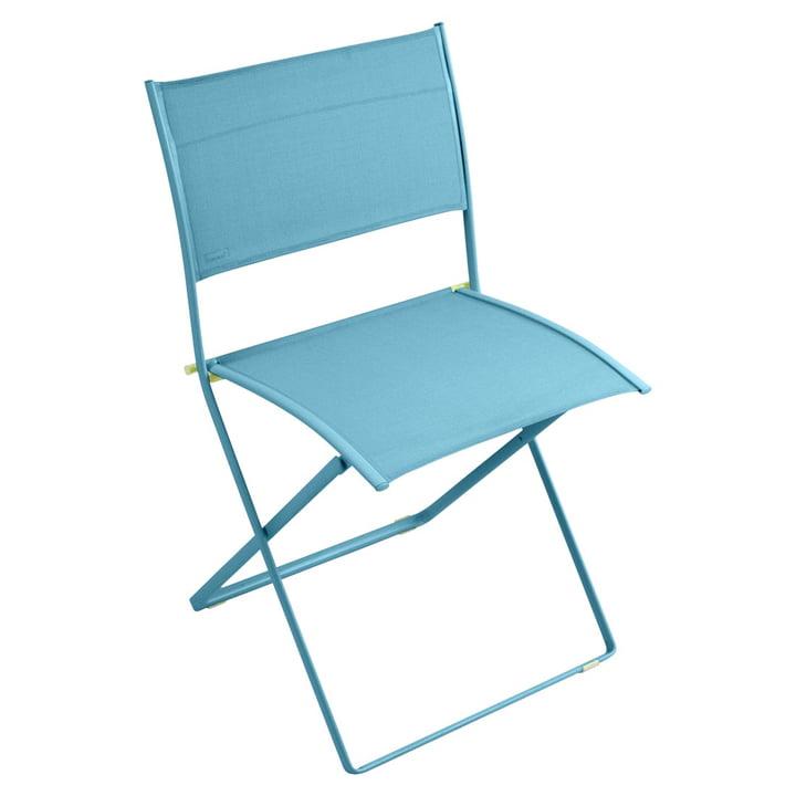 Plein Air Stuhl von Fermob in Türkis