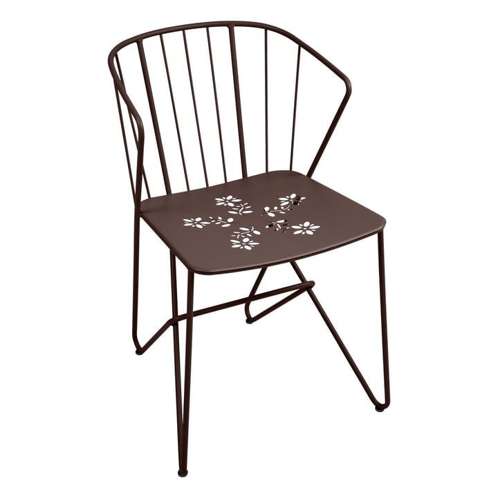 Flower Sessel mit Muster von Fermob in Rost