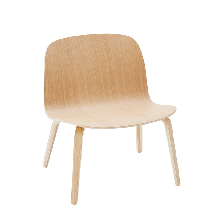 Visu Lounge Chair von Muuto in Eiche