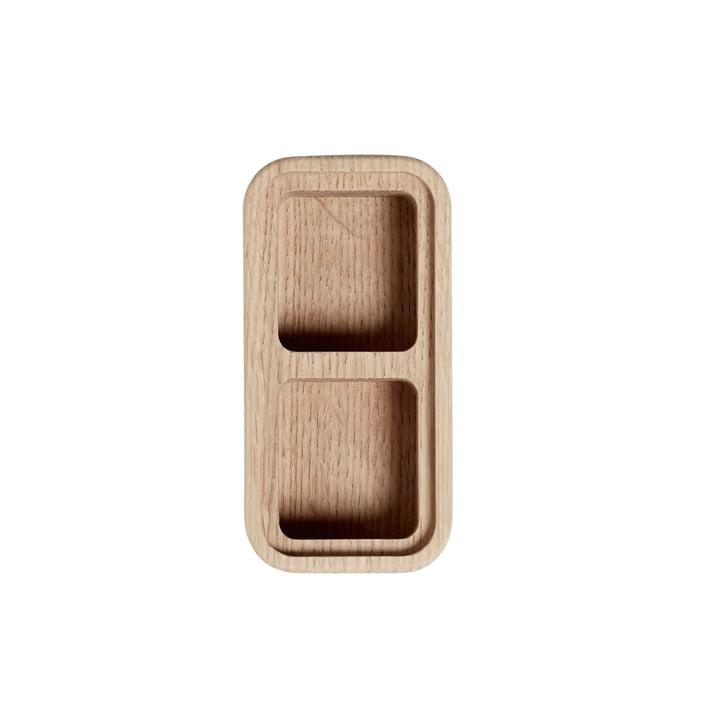 2 Fächer Create Me Box 6 x 12 cm von Andersen Furniture aus Eichenholz
