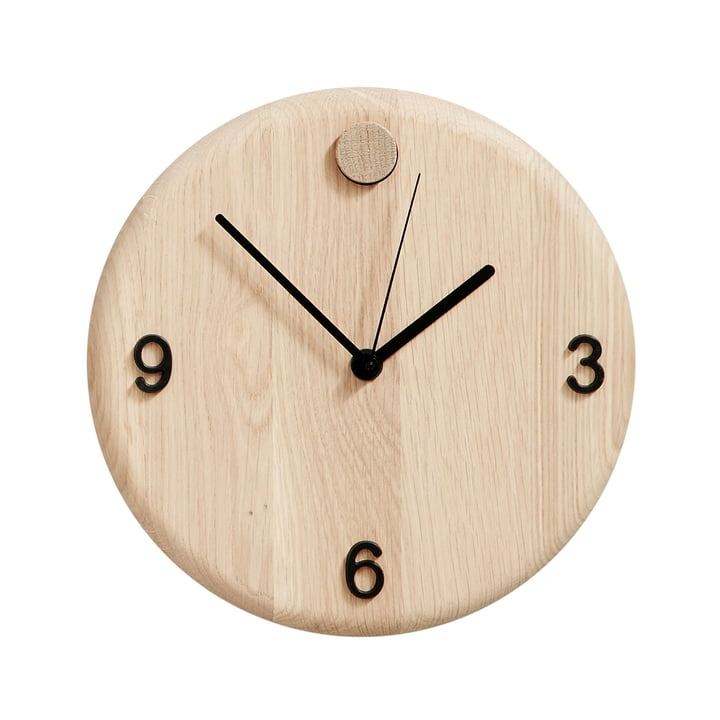 Wood Time Wanduhr von Andersen Furniture