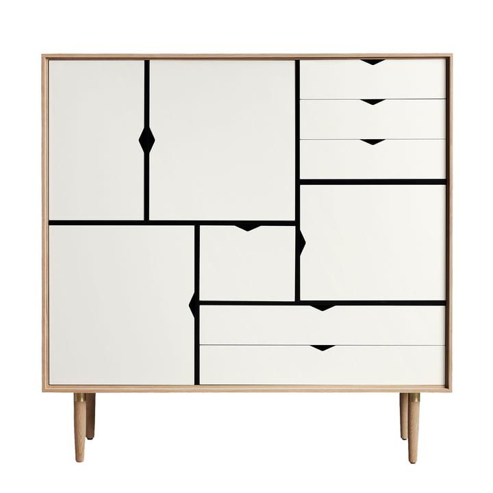 S3 Kommode von Andersen Furniture in Eiche geölt/ Fronten weiß