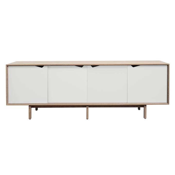 S1 Sideboard von Andersen Furniture in Eiche geseift/ Türen weiß