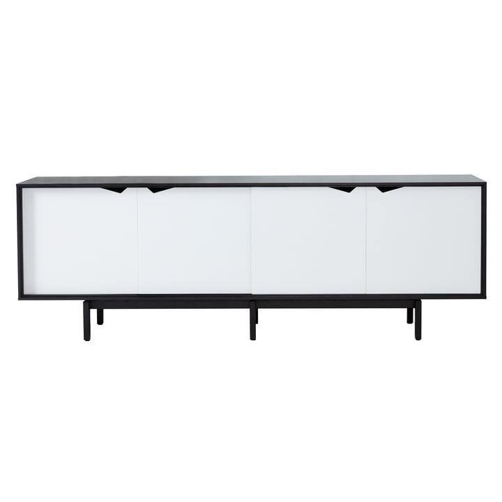 S1 Sideboard von Andersen Furniture in Eiche schwarz lackiert/ Türen Weiß
