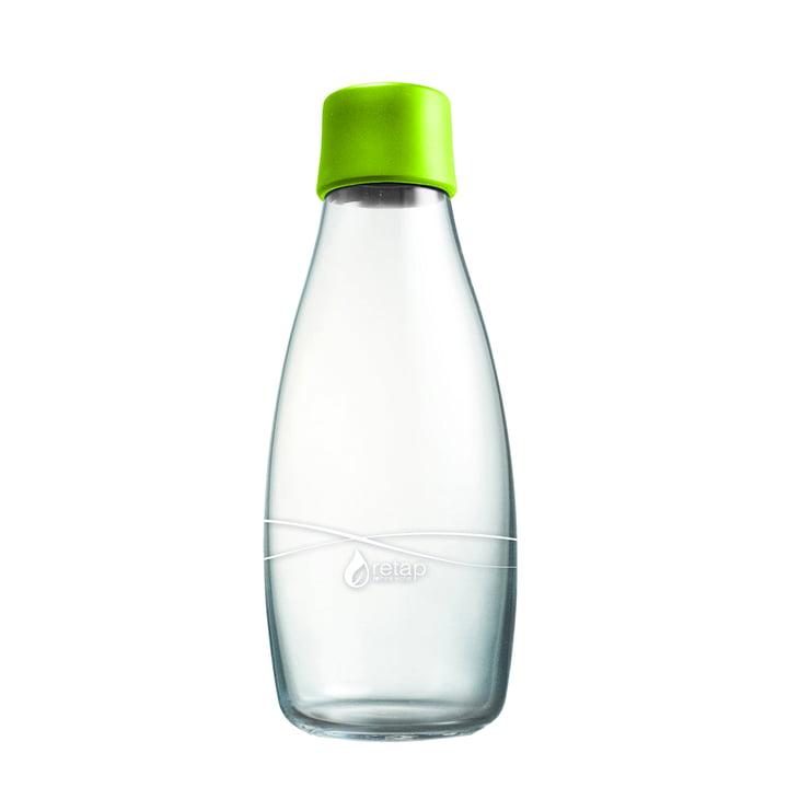 Trinkflasche mit Deckel 0,5 L von Retap in Hellgrün