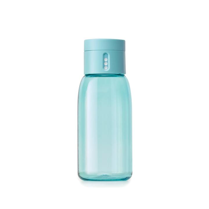 Dot Wasserflasche 400 ml von Joseph Joseph in Türkis