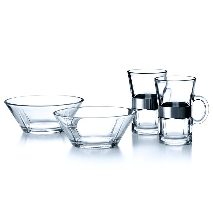Rosendahl - Grand Cru Frühstücksset für 2 Pers.: Hot Drink und Schale