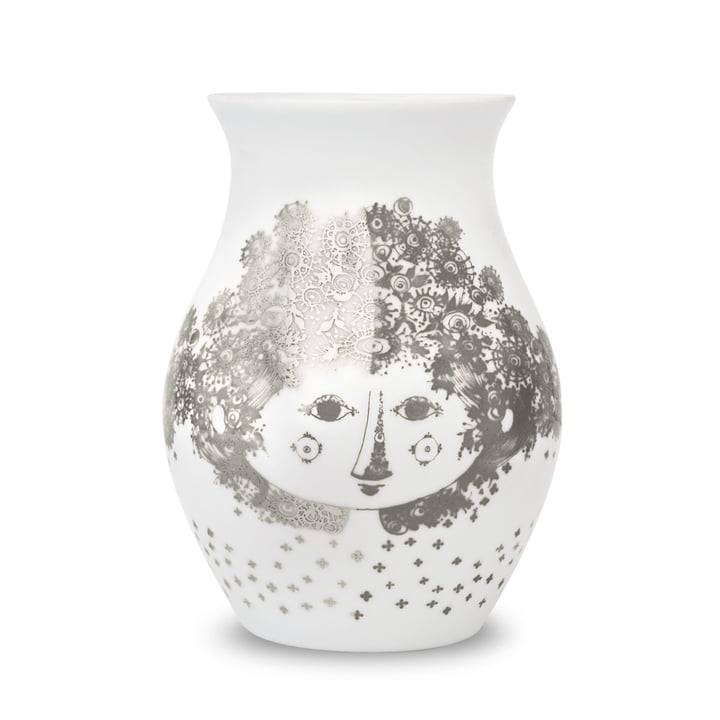 Vase Felicia von Bjørn Wiinblad in Silber