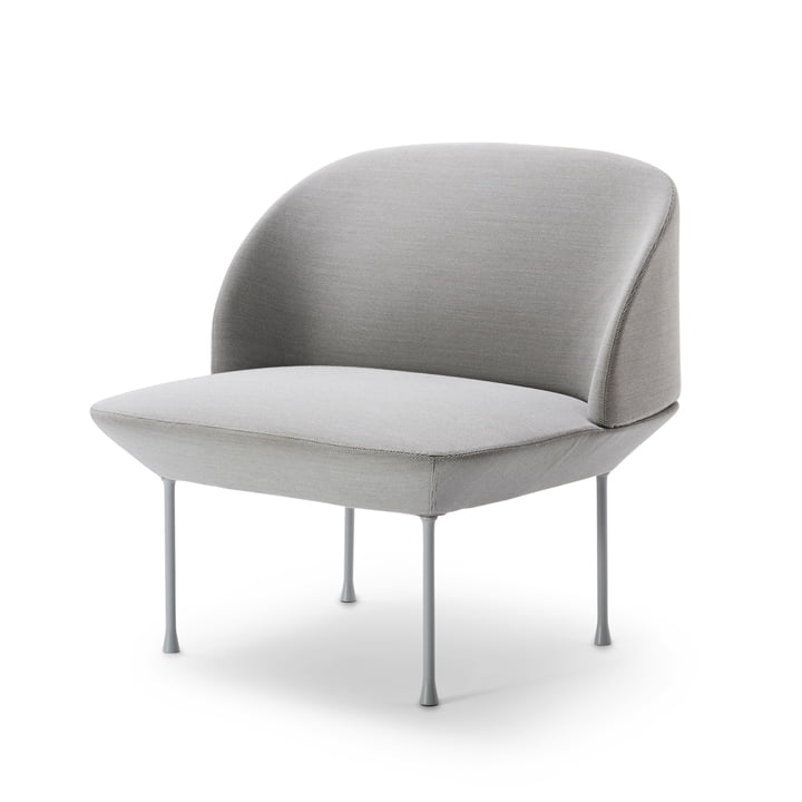 Muuto - Oslo Lounge-Chair, Steelcut 160