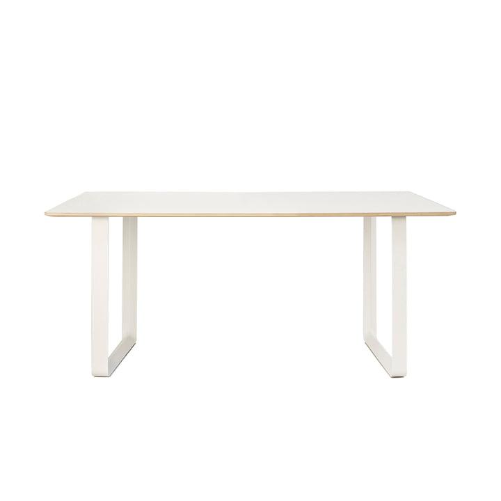 70/70 Esstisch 170 x 85 cm von Muuto in weiß (Laminat)