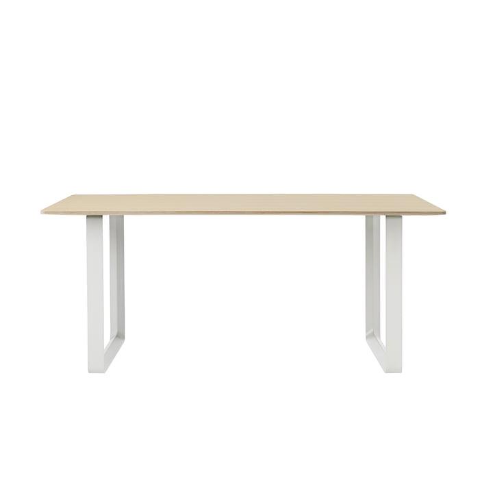 70/70 Esstisch 170 x 85 cm von Muuto in Eiche / Weiß