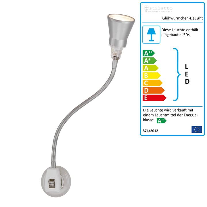 Glühwürmchen DeLight mit Alu-Kegelreflektor (LED) von Stiletto