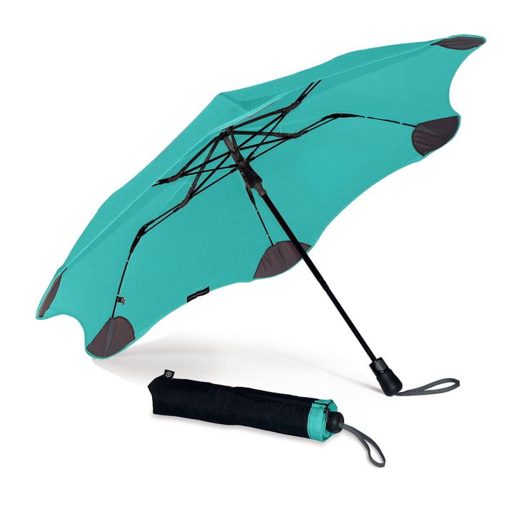 XS Metro von Blunt umbrellas in mint green