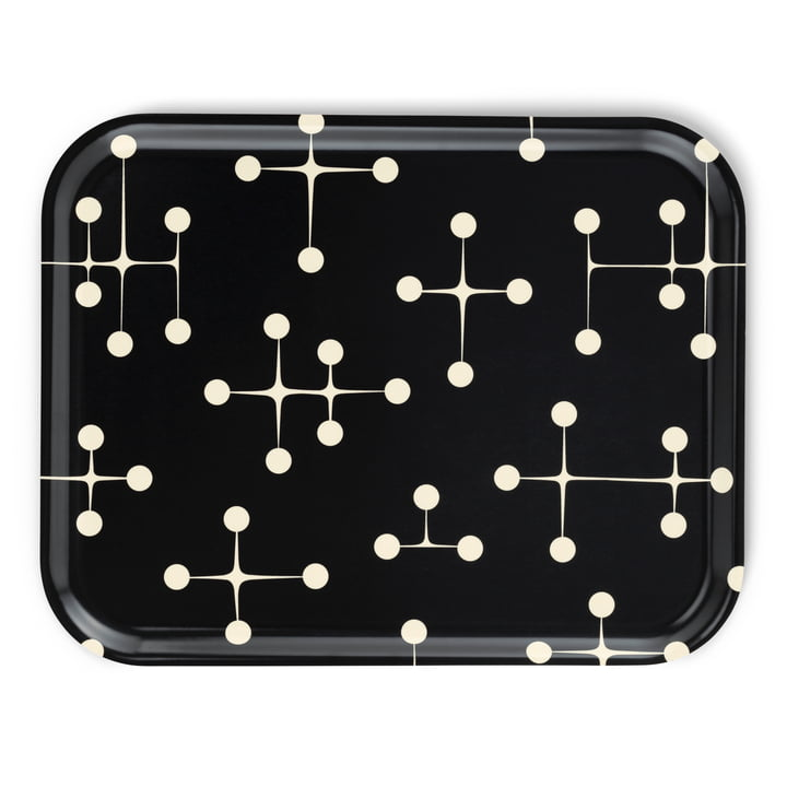 Classic Tray large Dot Pattern dark von Vitra