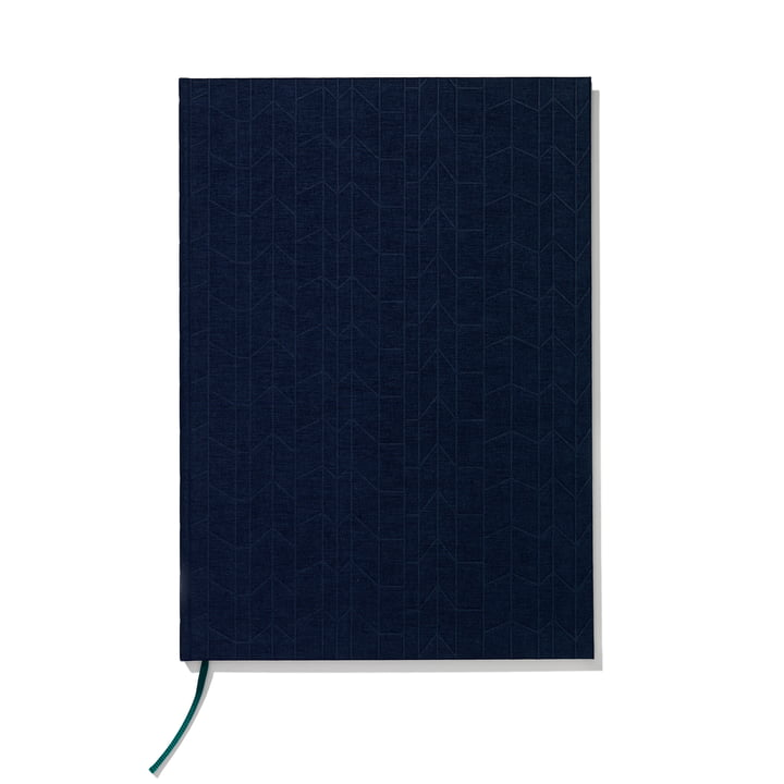 Notizbuch Hardcover A4 von Vitra in Navy Blue / Petrol