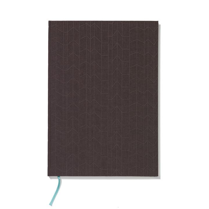 Notizbuch Hardcover A4 von Vitra in Anthrazit / Mint
