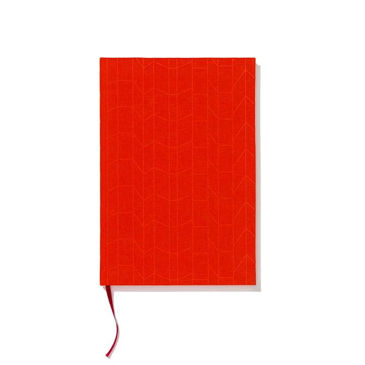 Notizbuch Hardcover A4 von Vitra in Tangerine / Magenta