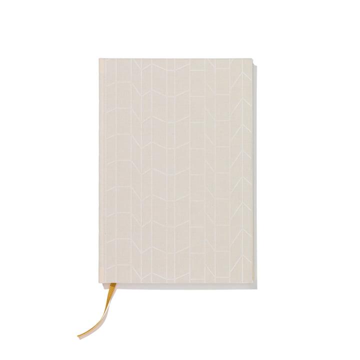 Notizbuch Hardcover A4 von Vitra in Crème / Gelb
