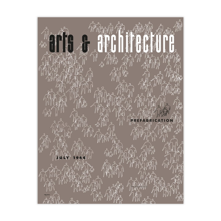 Eames Cover Print Jul 1944 von Vitra