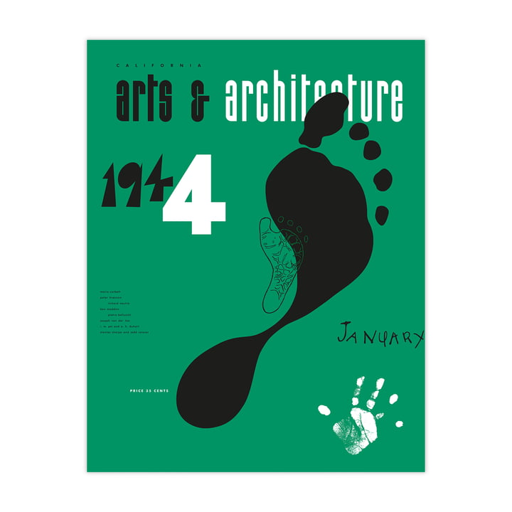 Eames Cover Print Jan 1944 von Vitra
