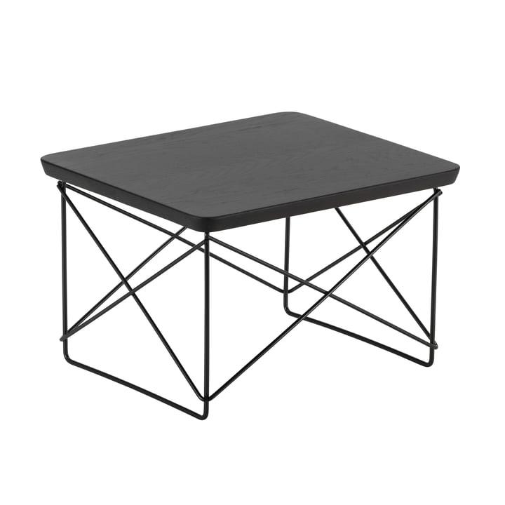 Eames Occasional Table LTR von Vitra in Eiche geräuchert / basic dark
