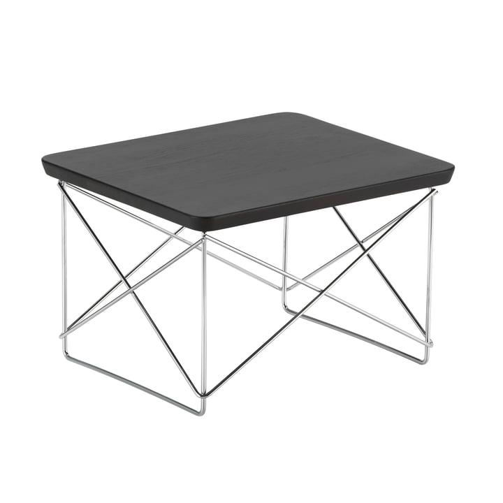 Eames Occasional Table LTR von Vitra in Eiche geräuchert / Chrom
