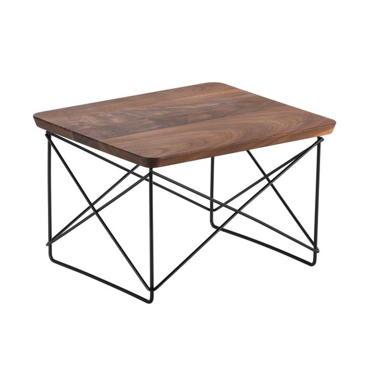 Eames Occasional Table LTR von Vitra in Walnuss / basic dark
