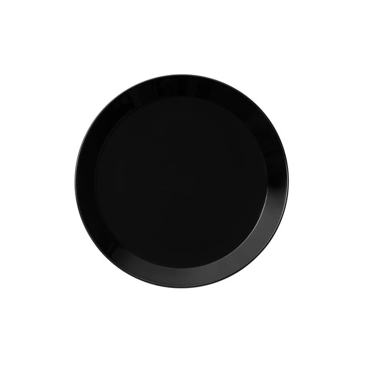 Teema Teller flach Ø 17cm von Iittala in Schwarz