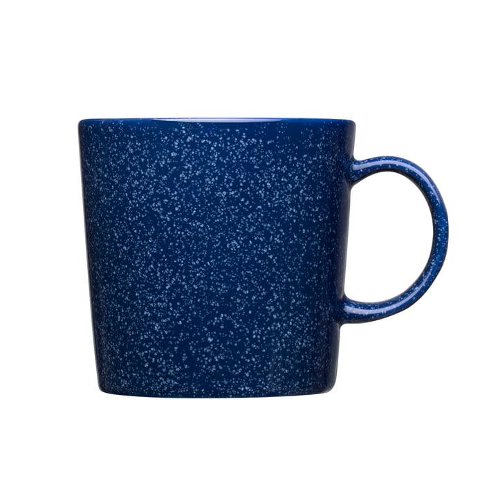 Teema Becher mit Henkel 0,3 l von Iittala in gesprenkelt Blau