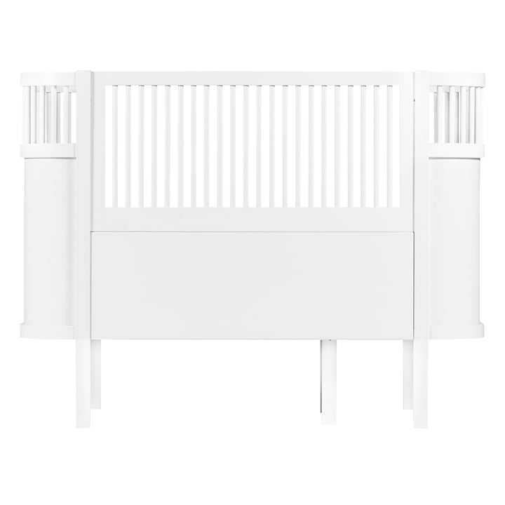 Das Sebra Bett Baby & Junior in Weiß