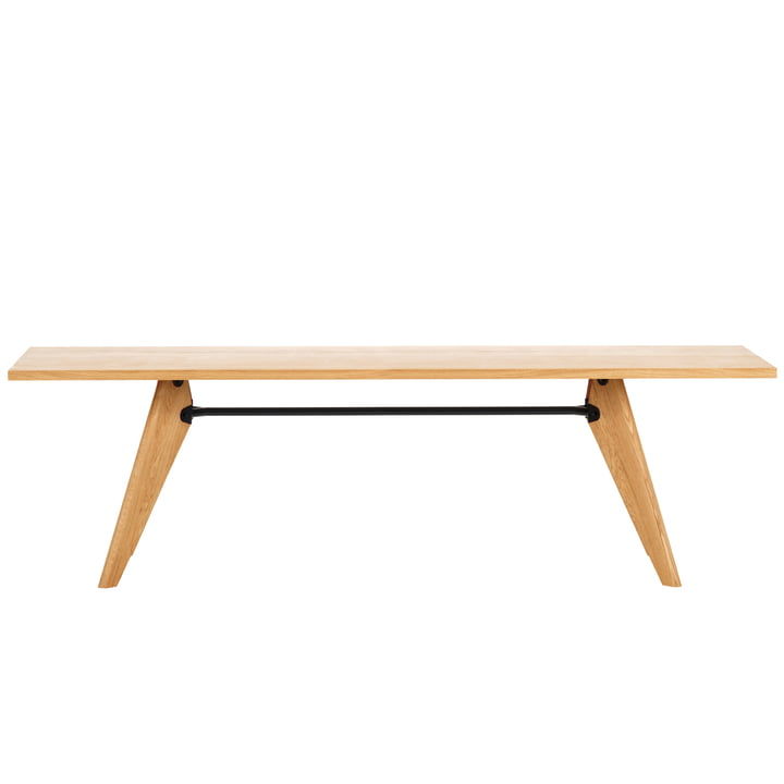 Table Solvay 240 cm von Vitra in Eiche natur