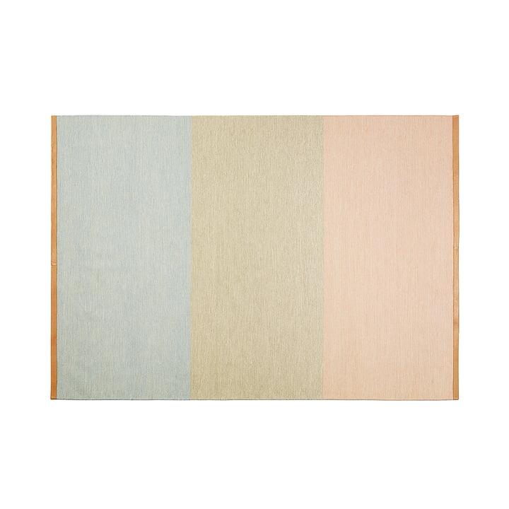 Design House Stockholm - Fields Teppich 170x240 cm, rosa / beige / blau