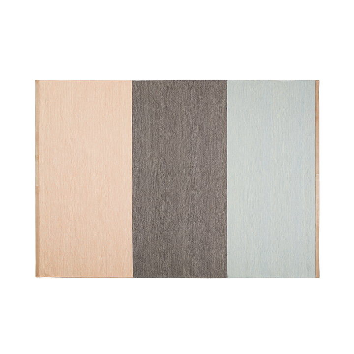 Design House Stockholm - Fields Teppich 170x240 cm, rosa / braun / blau