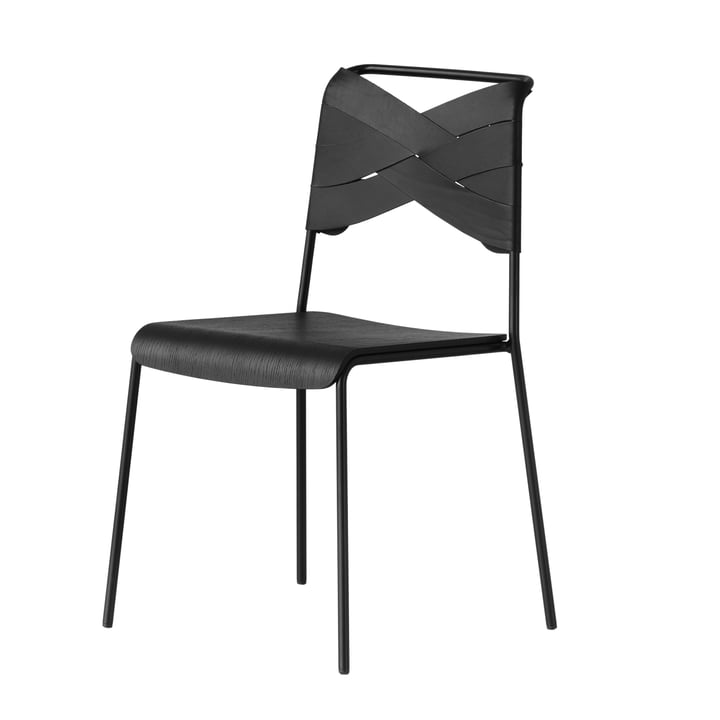 Torso Chair von Design House Stockholm in Schwarz