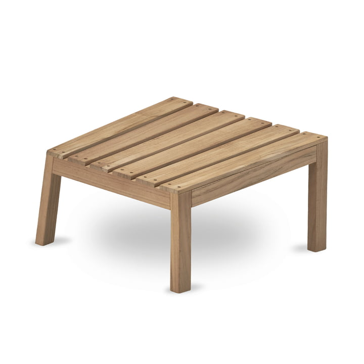 Between Lines Deck Stool von Skagerak